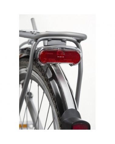 Eclairage vélo arrière sur dynamo - AXA Riff steady