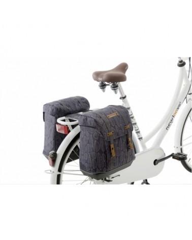 Alba - New Looxs - Sacoche double pour vélo 34L
