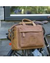 Orlando - NEW LOOXS - sacoche vélo en cuir à bandoulière