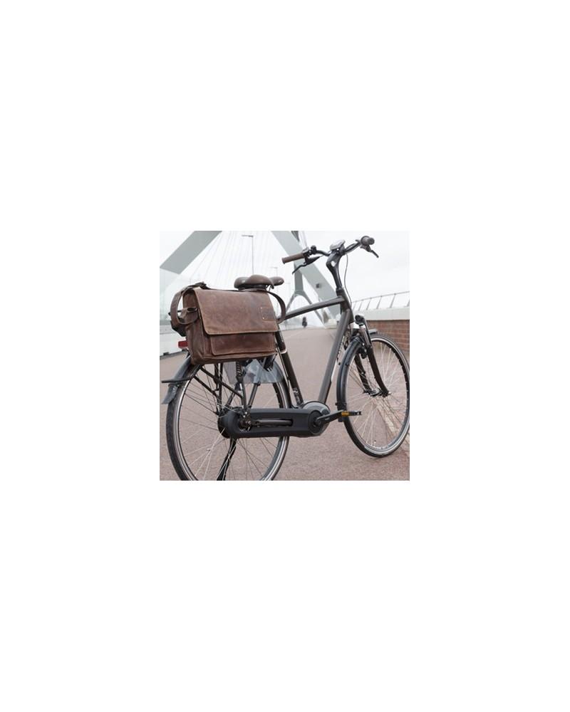 sacoche vélo cuir barolo new looxs