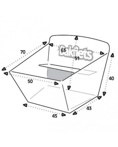 Biporteur Classic court - BAKFIETS