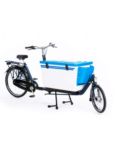 Biporteur électrique Cool Box long - BAKFIETS