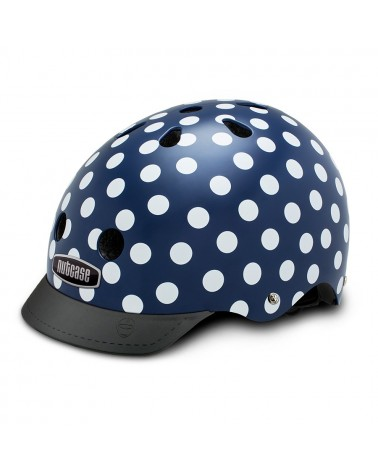 Street Navy Dots - NUTCASE - Casque vélo adulte