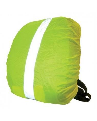 Housse pour sac a dos avec bande réfléchissante