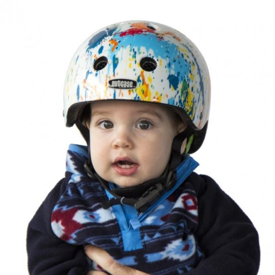 casque vélo bébé Baby Nutty Color Splash