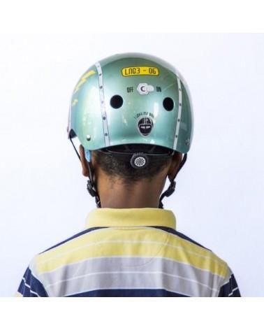 Little Nutty Tin Robot - NUTCASE - Casque vélo enfant