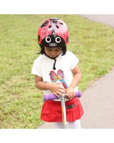 Little Nutty Coccinelle - NUTCASE - Casque vélo enfant