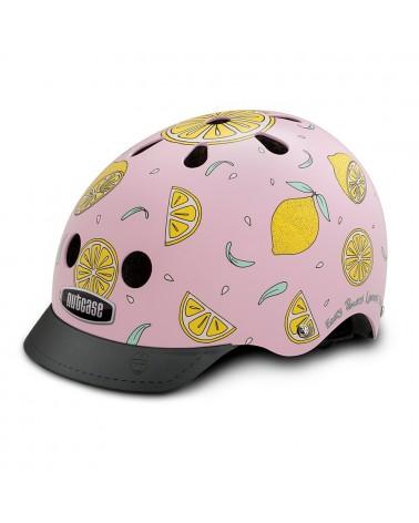 casque velo Little Nutty pink lemonade Nutcase