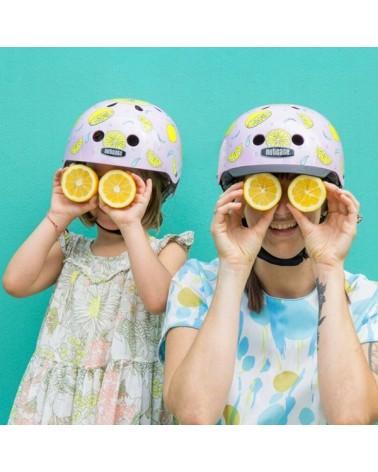 Little Nutty Pink Lemonade - NUTCASE - Casque vélo enfant (48 - 52 cm)