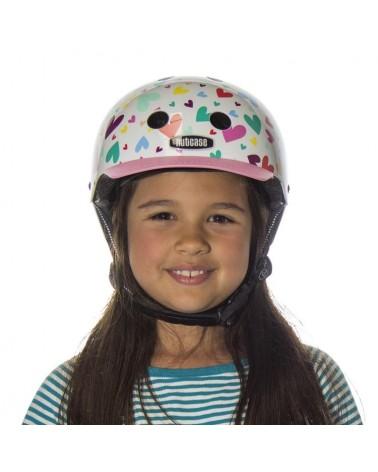 Little Nutty Happy Hearts - NUTCASE - Casque vélo enfant (48 - 52 cm)