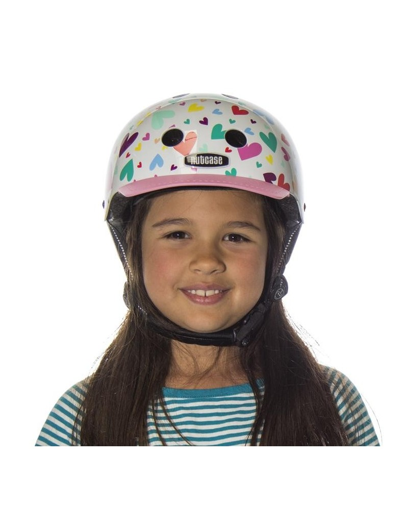 casque velo Little Nutty happy hearts Nutcase