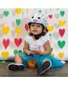 casque velo bebe Happy Hearts (Baby Nutty)