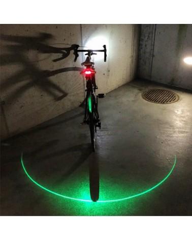 Clignotant arrière + laser vert Blinkers
