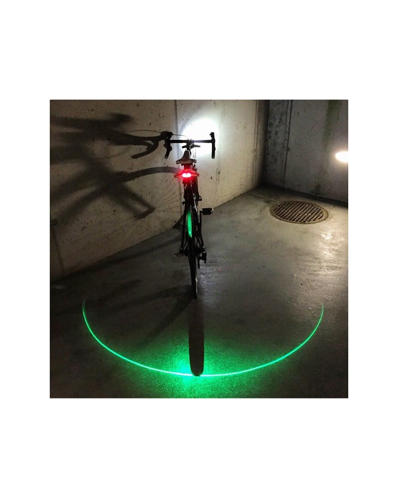 Eclairage laser vert Blinkers