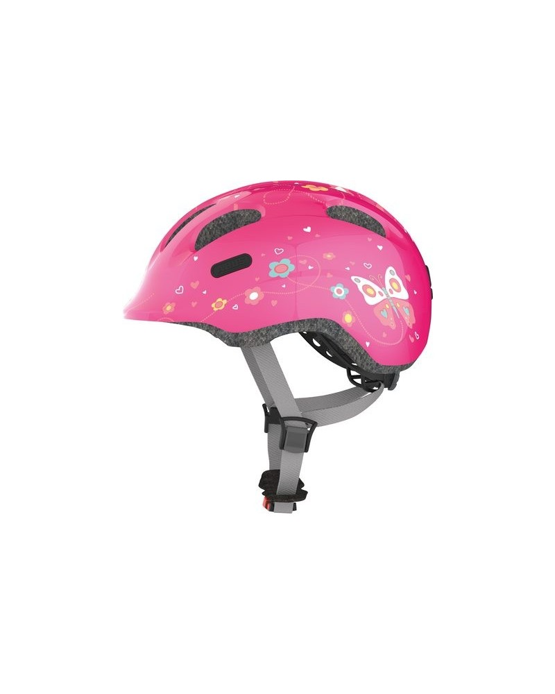 Pink Butterfly Smiley 2.0 - ABUS - Casque vélo enfant