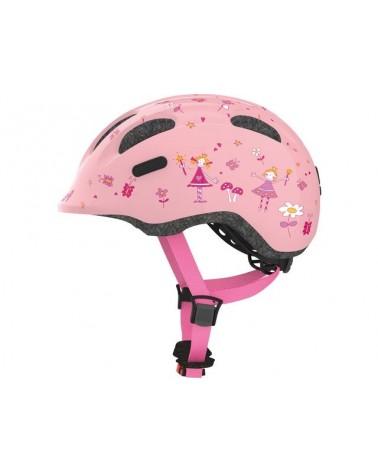 Princesse Rose Smiley 2.0 - ABUS - Casque vélo enfant