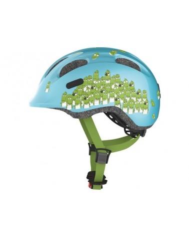Bleu croco Smiley 2.0 - ABUS - Casque vélo enfant