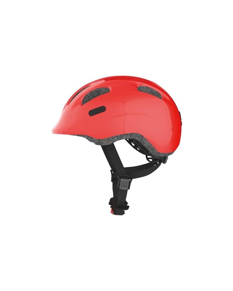 Sparkling Red Smiley 2.0 - ABUS - Casque vélo enfant