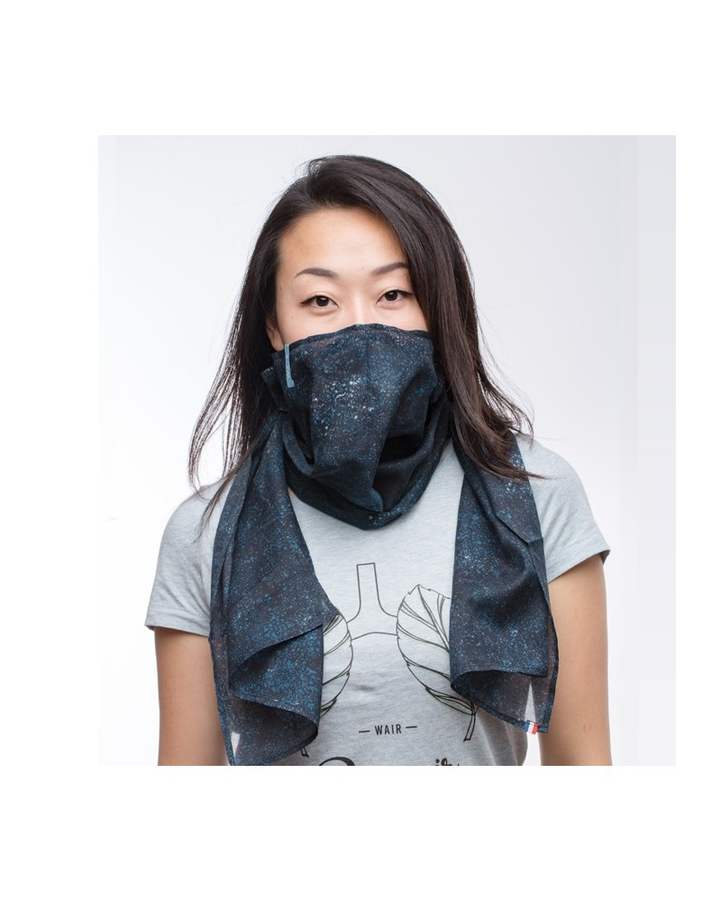 Foulard anti-pollution Wair - Voie lactée