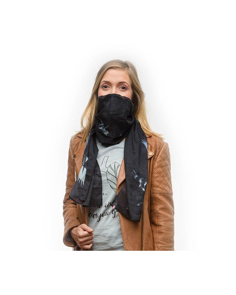 Foulard anti-pollution Wair - Vol de nuit