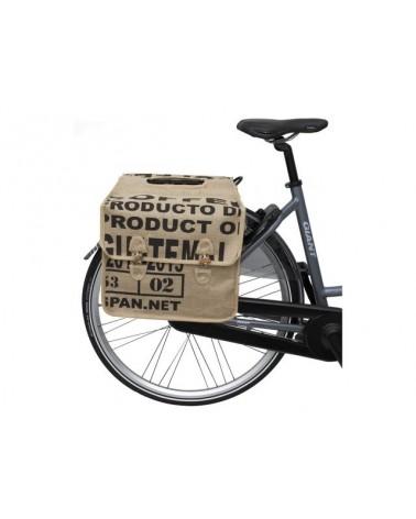 Jute Sand - Fastrider - Sacoche vélo double